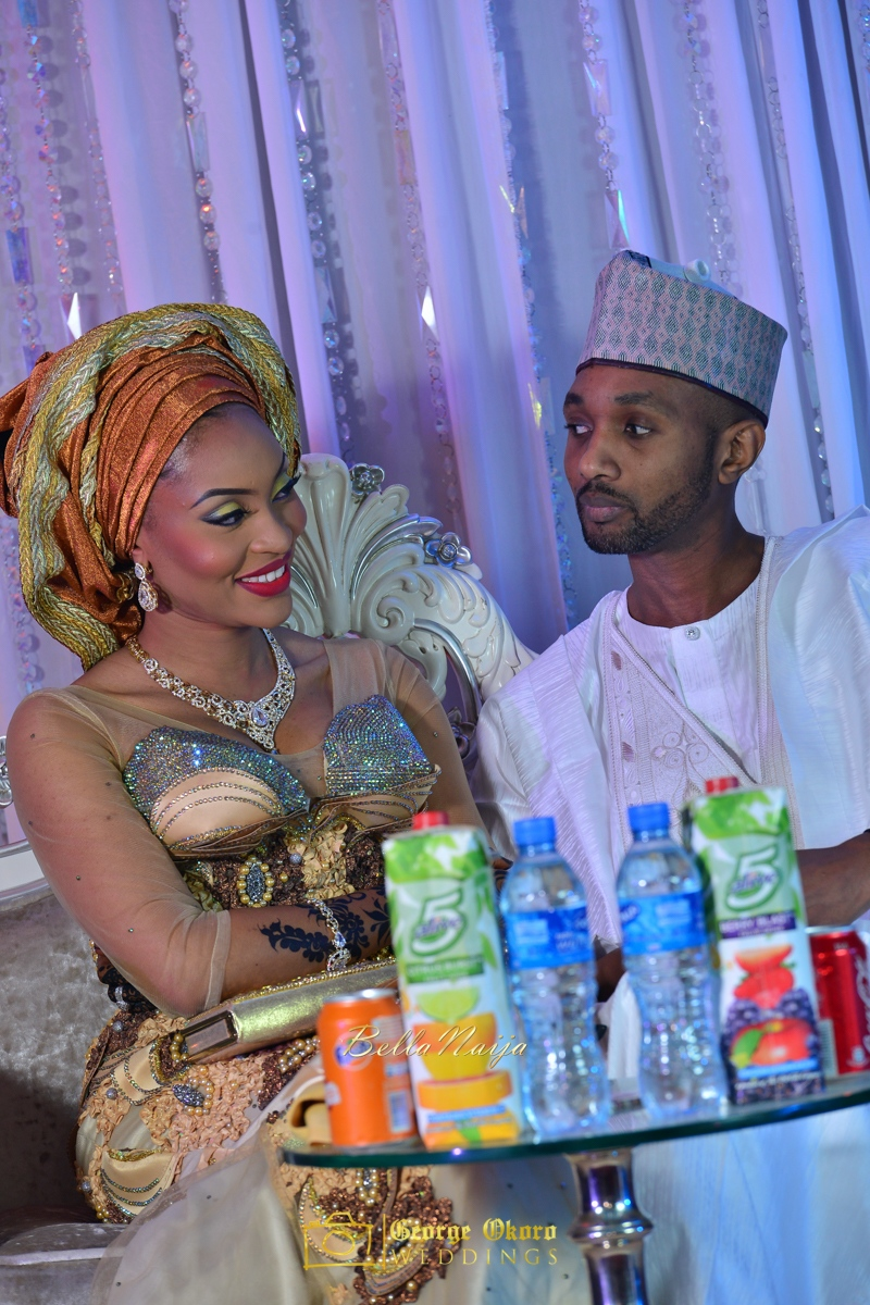 Hadiza Maitama-Sule & Salihu Rilwanu Lukman's Northern Nigerian Wedding in Kano | BellaNaija 2015.George Okoro-200