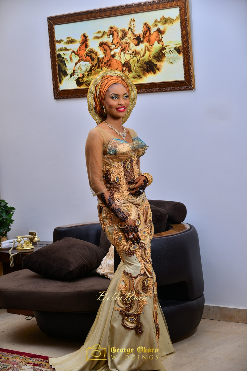 Hadiza Maitama-Sule & Salihu Rilwanu Lukman's Northern Nigerian Wedding in Kano | BellaNaija 2015.George Okoro-59