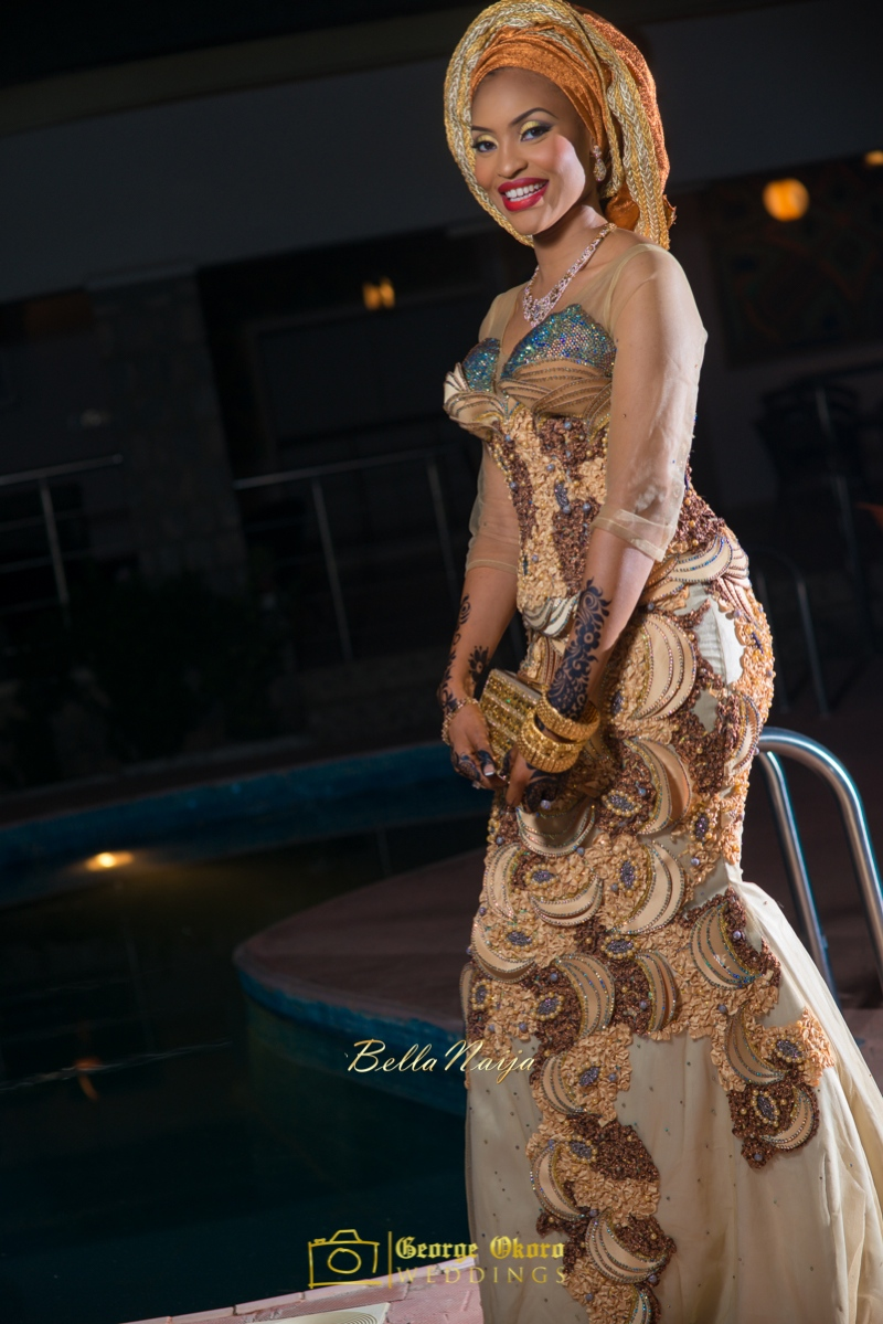 Hadiza Maitama-Sule & Salihu Rilwanu Lukman's Northern Nigerian Wedding in Kano | BellaNaija 2015.George Okoro-89
