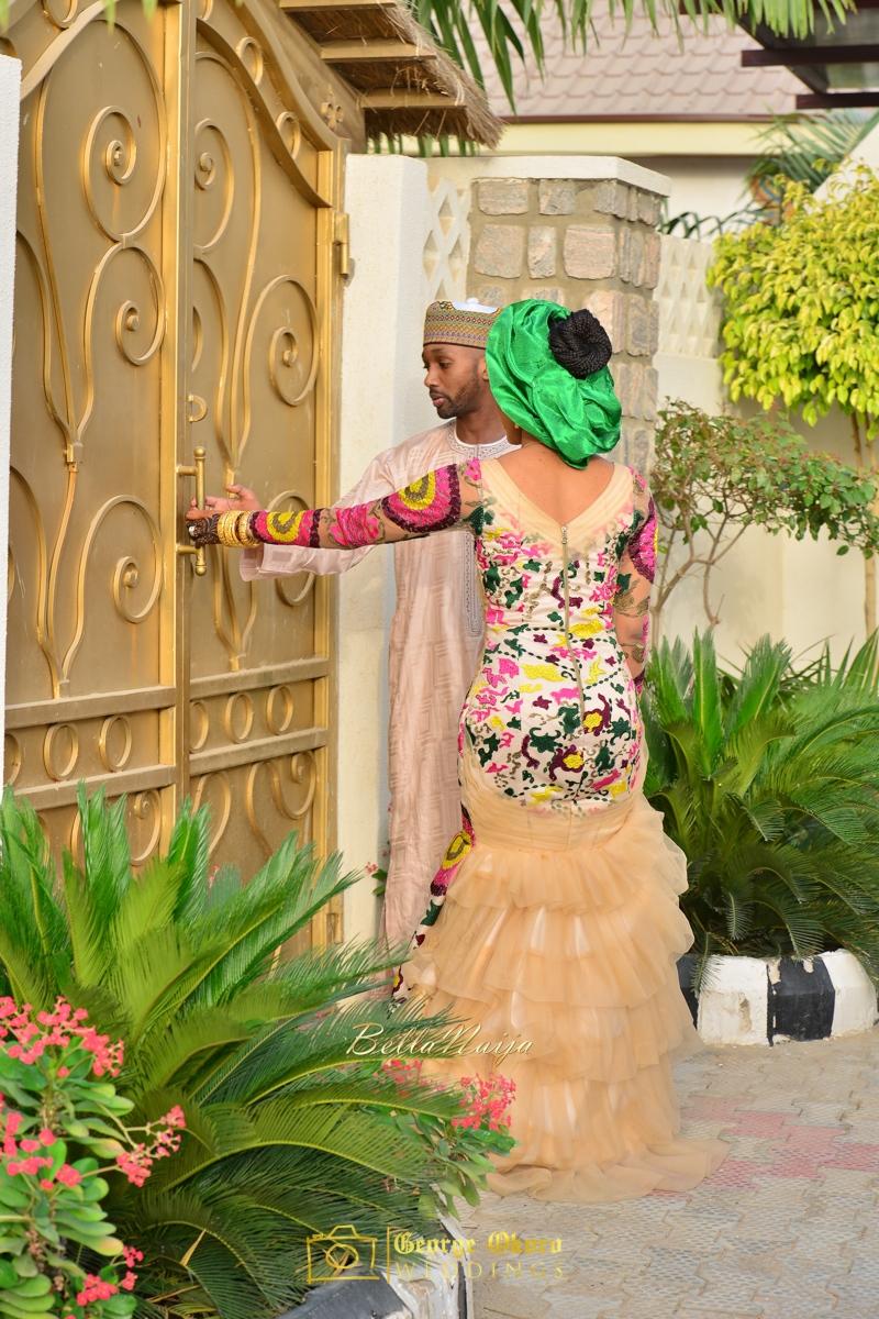 Hadiza Maitama-Sule & Salihu Rilwanu Lukman's Northern Nigerian Wedding in Kano | Fulani Kamu | BellaNaija 2015.George Okoro-105