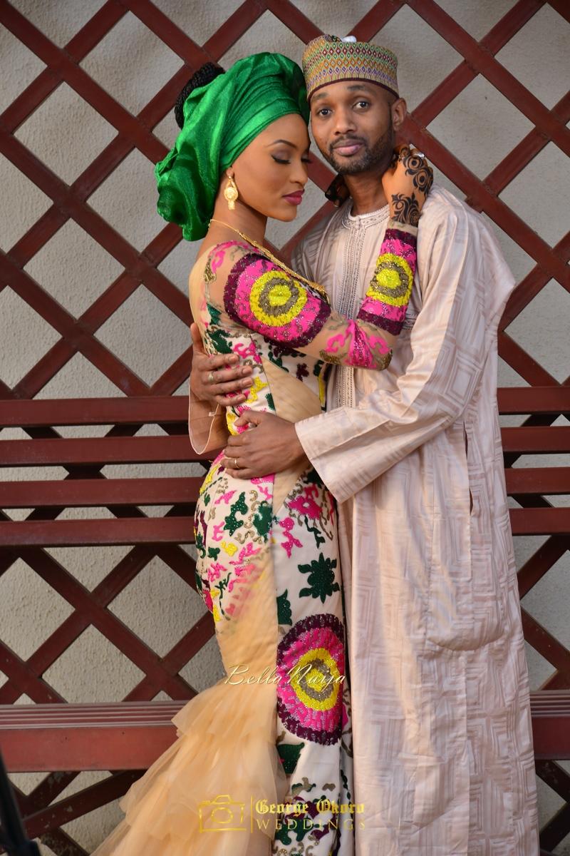 Hadiza Maitama-Sule & Salihu Rilwanu Lukman's Northern Nigerian Wedding in Kano | Fulani Kamu | BellaNaija 2015.George Okoro-124