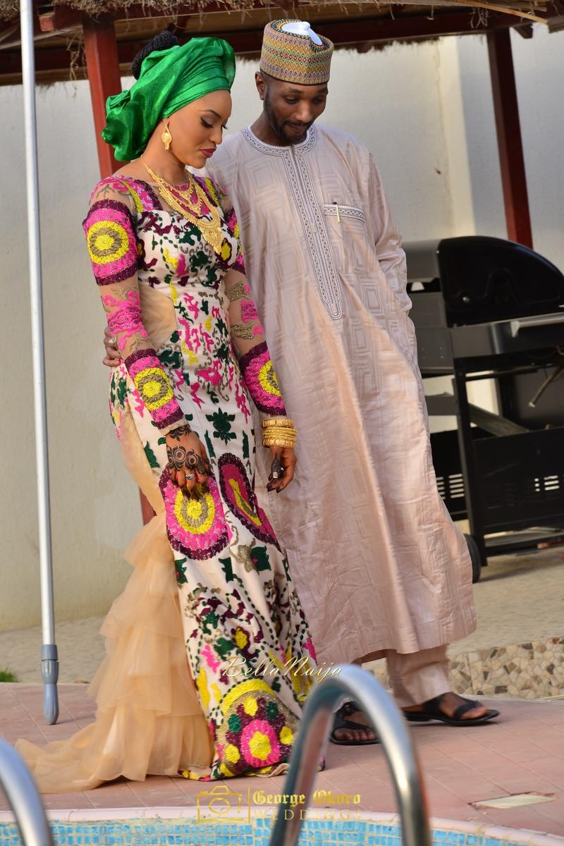 Hadiza Maitama-Sule & Salihu Rilwanu Lukman's Northern Nigerian Wedding in Kano | Fulani Kamu | BellaNaija 2015.George Okoro-130
