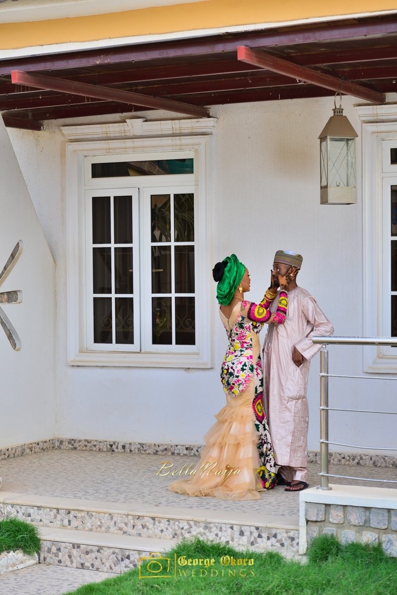 Hadiza Maitama-Sule & Salihu Rilwanu Lukman's Northern Nigerian Wedding in Kano | Fulani Kamu | BellaNaija 2015.George Okoro-151