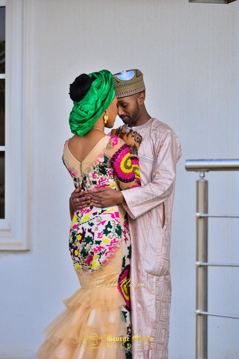 Hadiza Maitama-Sule & Salihu Rilwanu Lukman's Northern Nigerian Wedding in Kano | Fulani Kamu | BellaNaija 2015.George Okoro-160