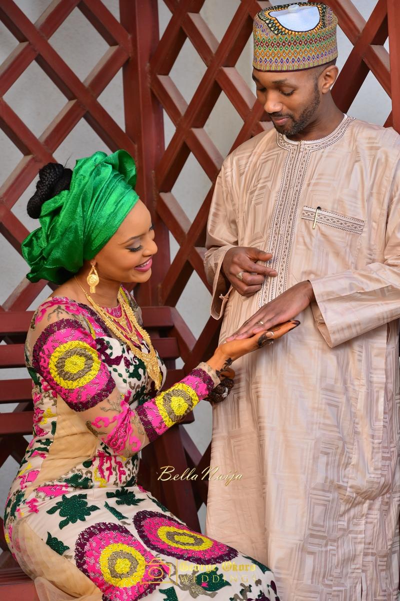 Hadiza Maitama-Sule & Salihu Rilwanu Lukman's Northern Nigerian Wedding in Kano | Fulani Kamu | BellaNaija 2015.George Okoro-198