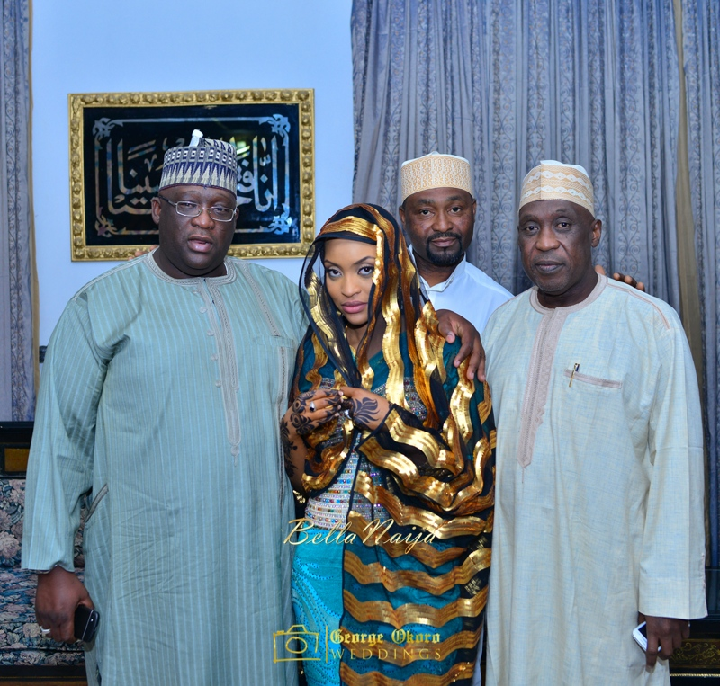 Hadiza Maitama-Sule & Salihu Rilwanu Lukman's Northern Nigerian Wedding in Kano | Fulani Kamu | BellaNaija 2015.George Okoro-2-44