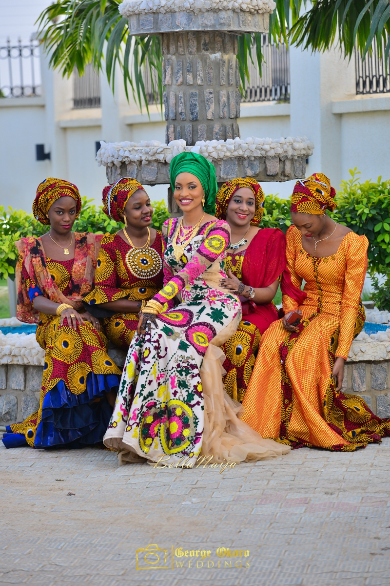 Hadiza Maitama-Sule & Salihu Rilwanu Lukman's Northern Nigerian Wedding in Kano | Fulani Kamu | BellaNaija 2015.George Okoro-209