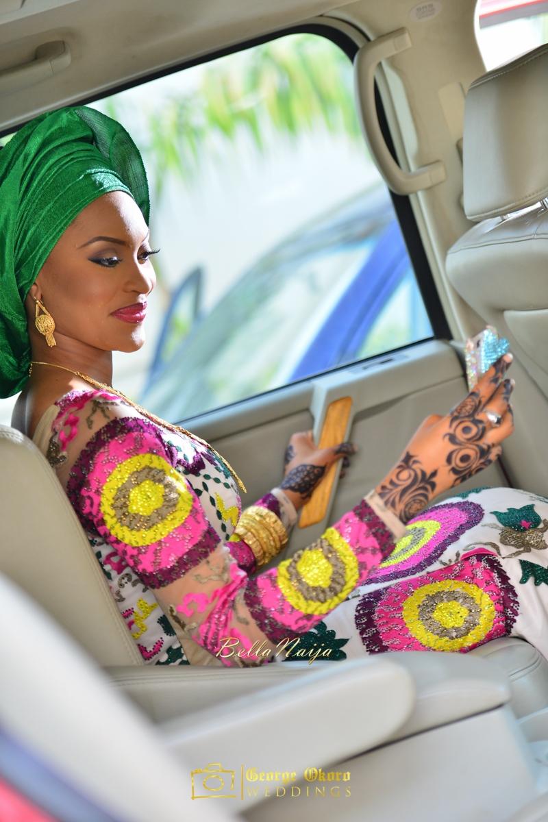 Hadiza Maitama-Sule & Salihu Rilwanu Lukman's Northern Nigerian Wedding in Kano | Fulani Kamu | BellaNaija 2015.George Okoro-242