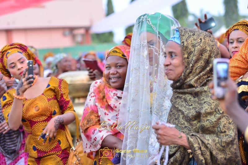 Hadiza Maitama-Sule & Salihu Rilwanu Lukman's Northern Nigerian Wedding in Kano | Fulani Kamu | BellaNaija 2015.George Okoro-257