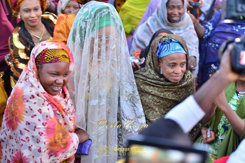 Hadiza Maitama-Sule & Salihu Rilwanu Lukman's Northern Nigerian Wedding in Kano | Fulani Kamu | BellaNaija 2015.George Okoro-259
