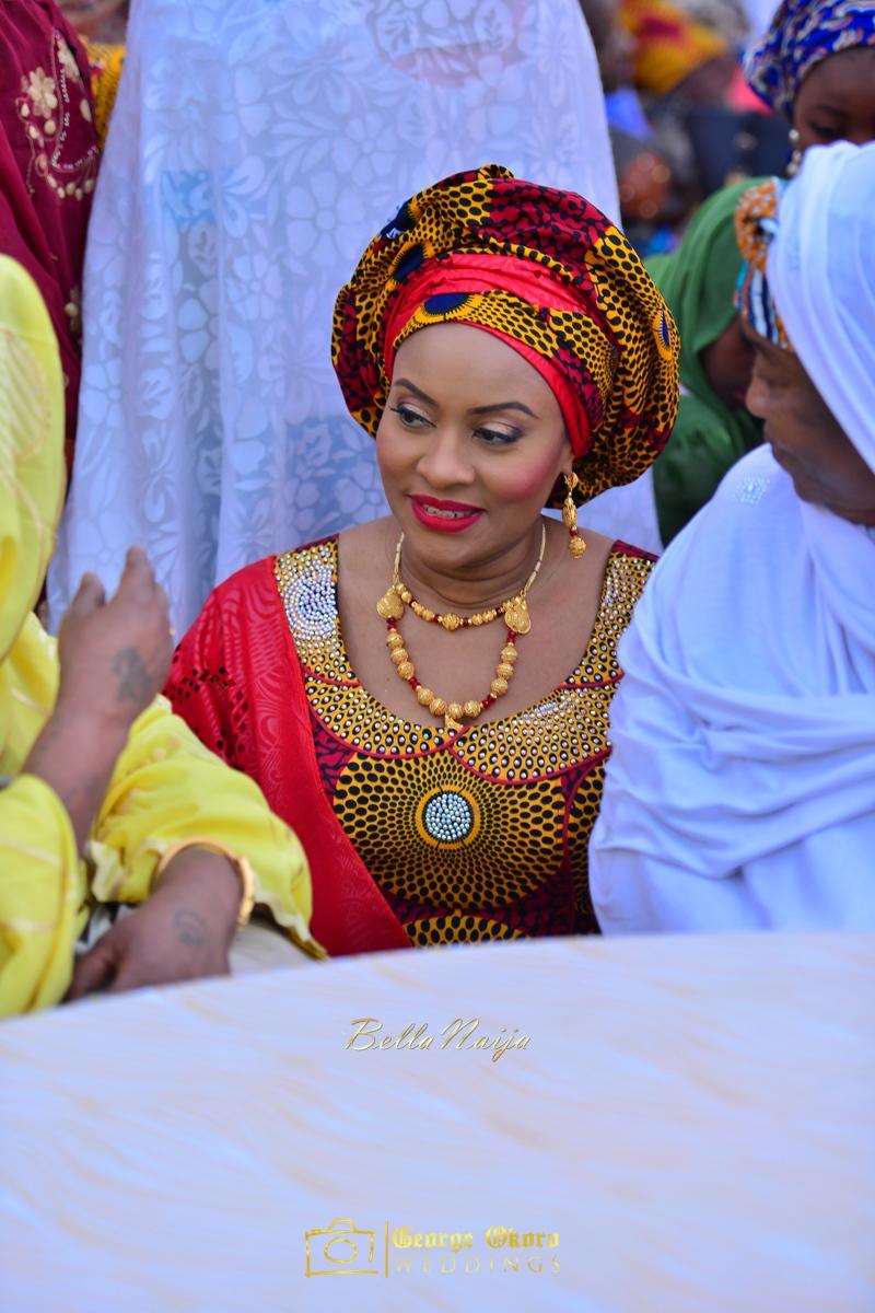 Hadiza Maitama-Sule & Salihu Rilwanu Lukman's Northern Nigerian Wedding in Kano | Fulani Kamu | BellaNaija 2015.George Okoro-272