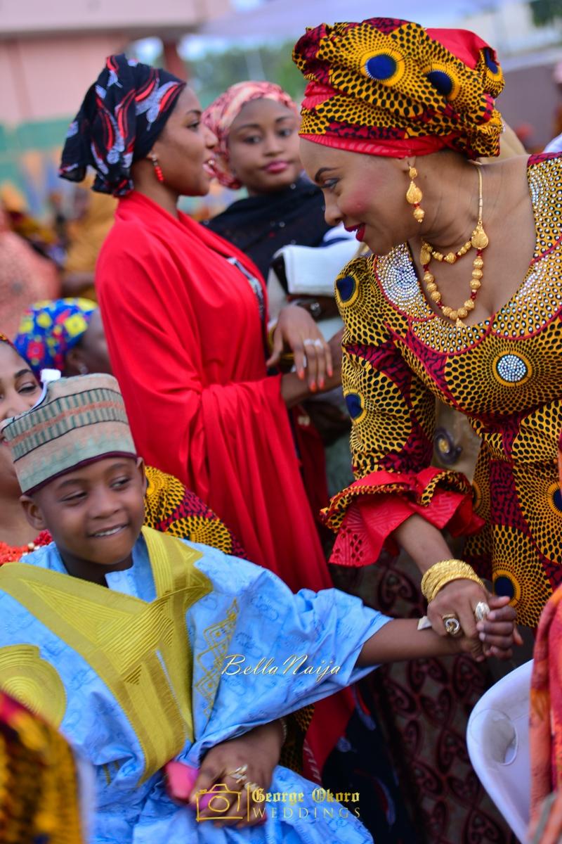 Hadiza Maitama-Sule & Salihu Rilwanu Lukman's Northern Nigerian Wedding in Kano | Fulani Kamu | BellaNaija 2015.George Okoro-277