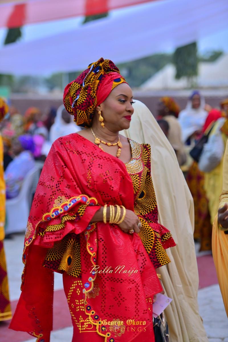 Hadiza Maitama-Sule & Salihu Rilwanu Lukman's Northern Nigerian Wedding in Kano | Fulani Kamu | BellaNaija 2015.George Okoro-287