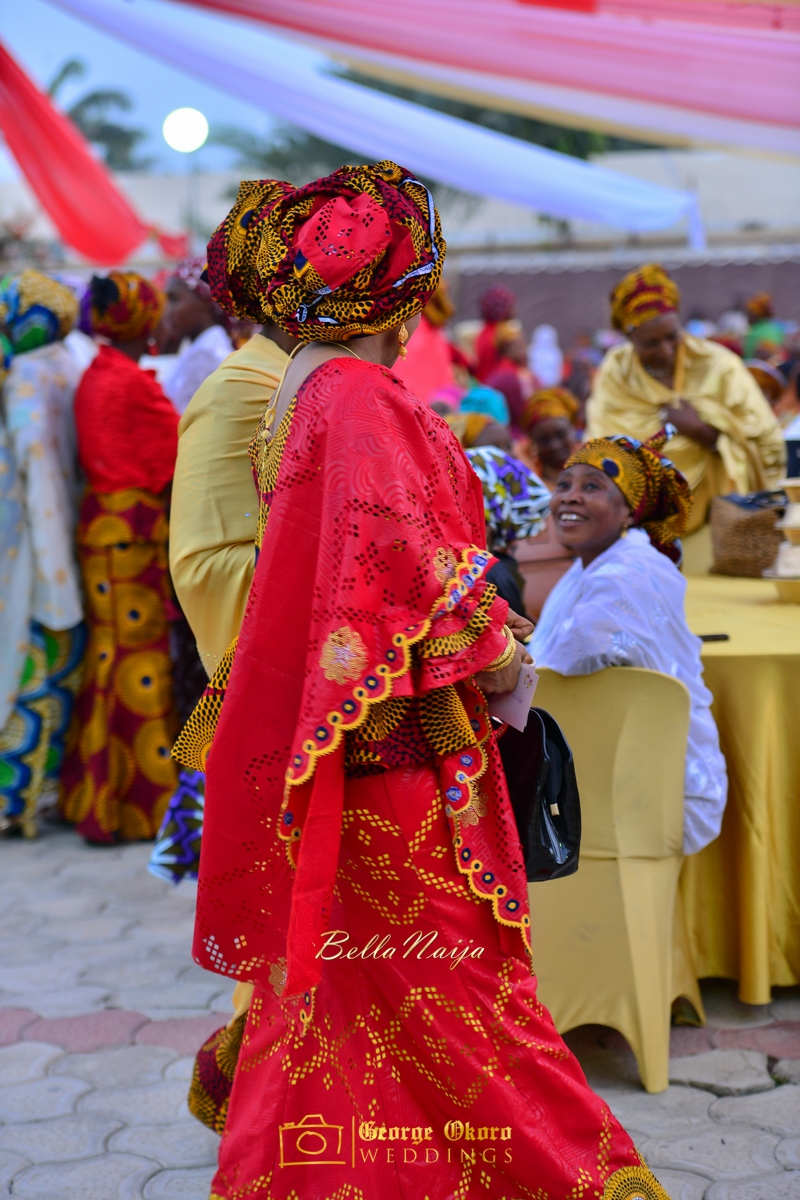 Hadiza Maitama-Sule & Salihu Rilwanu Lukman's Northern Nigerian Wedding in Kano | Fulani Kamu | BellaNaija 2015.George Okoro-289