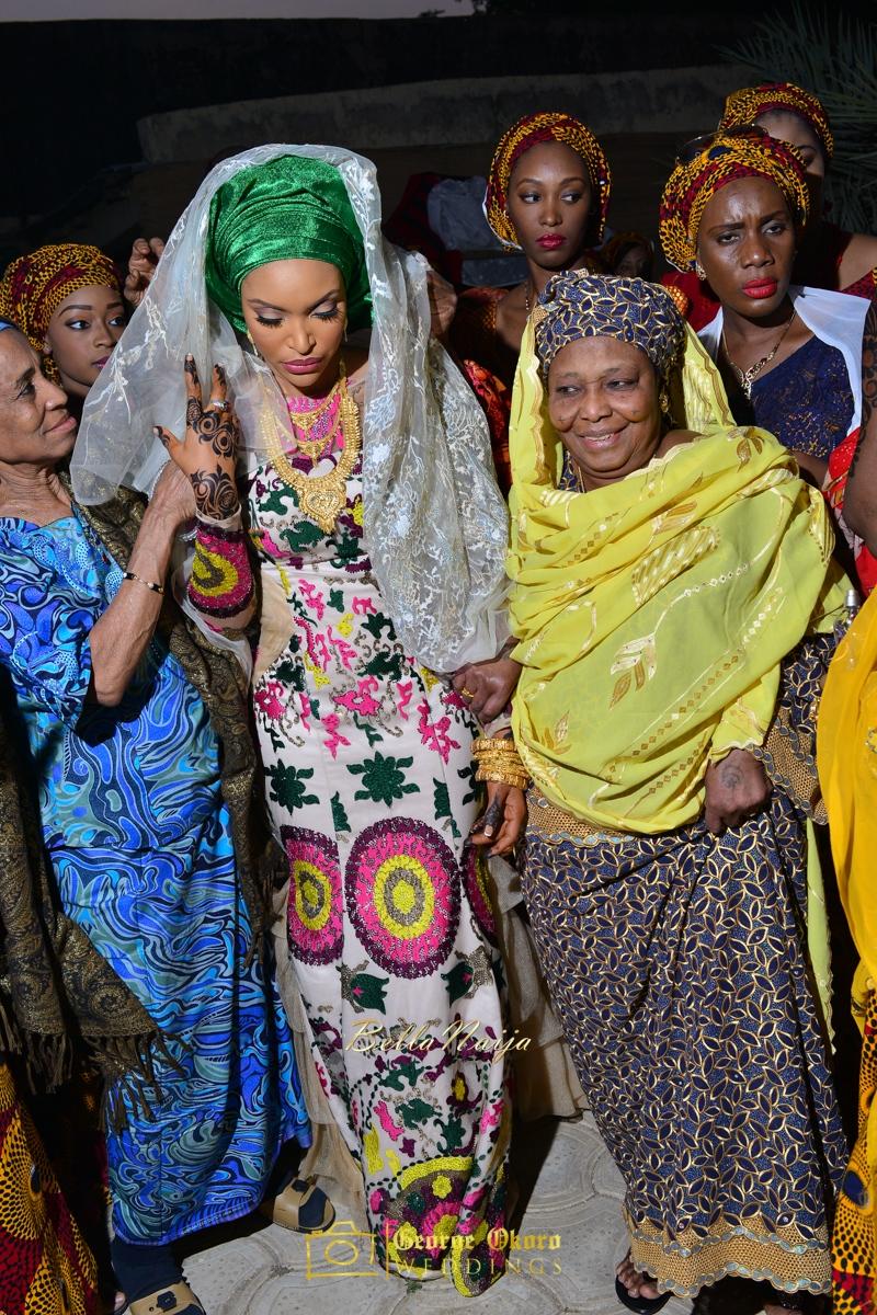 Hadiza Maitama-Sule & Salihu Rilwanu Lukman's Northern Nigerian Wedding in Kano | Fulani Kamu | BellaNaija 2015.George Okoro-366