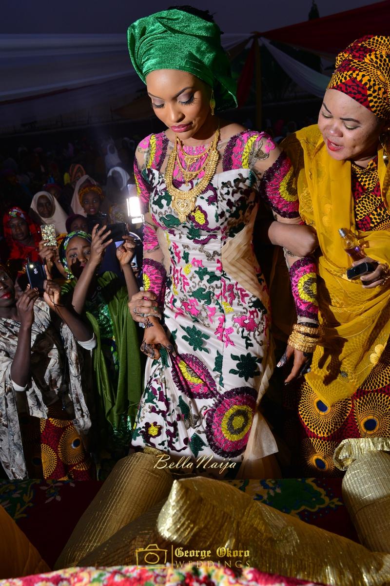 Hadiza Maitama-Sule & Salihu Rilwanu Lukman's Northern Nigerian Wedding in Kano | Fulani Kamu | BellaNaija 2015.George Okoro-378