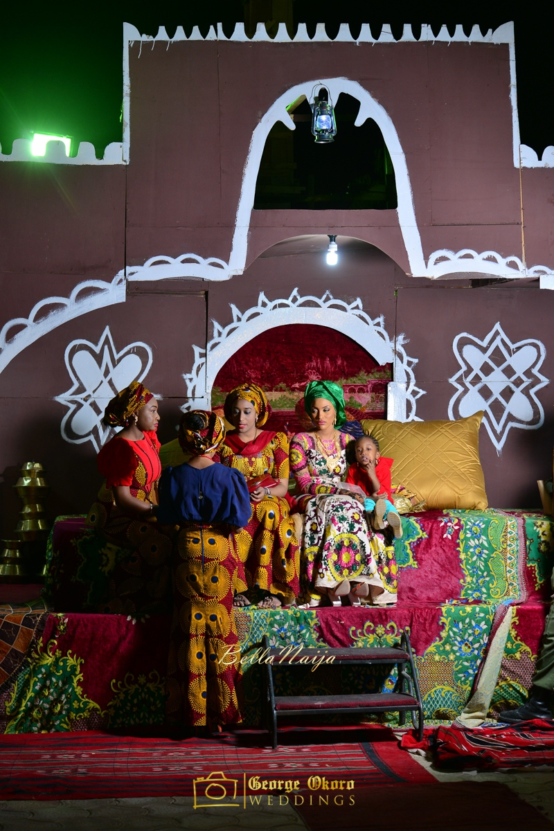 Hadiza Maitama-Sule & Salihu Rilwanu Lukman's Northern Nigerian Wedding in Kano | Fulani Kamu | BellaNaija 2015.George Okoro-426