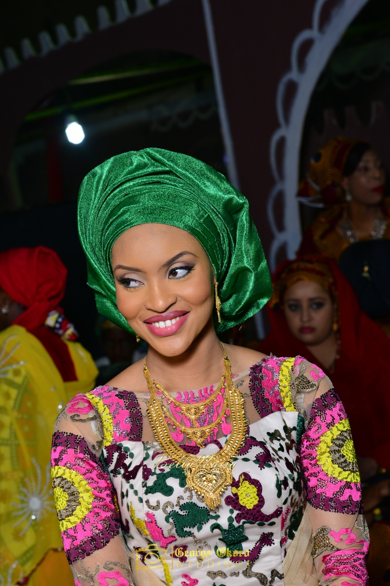 Hadiza Maitama-Sule & Salihu Rilwanu Lukman's Northern Nigerian Wedding in Kano | Fulani Kamu | BellaNaija 2015.George Okoro-474