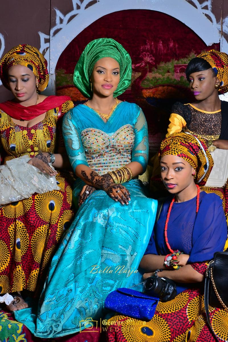 Hadiza Maitama-Sule & Salihu Rilwanu Lukman's Northern Nigerian Wedding in Kano | Fulani Kamu | BellaNaija 2015.George Okoro-506