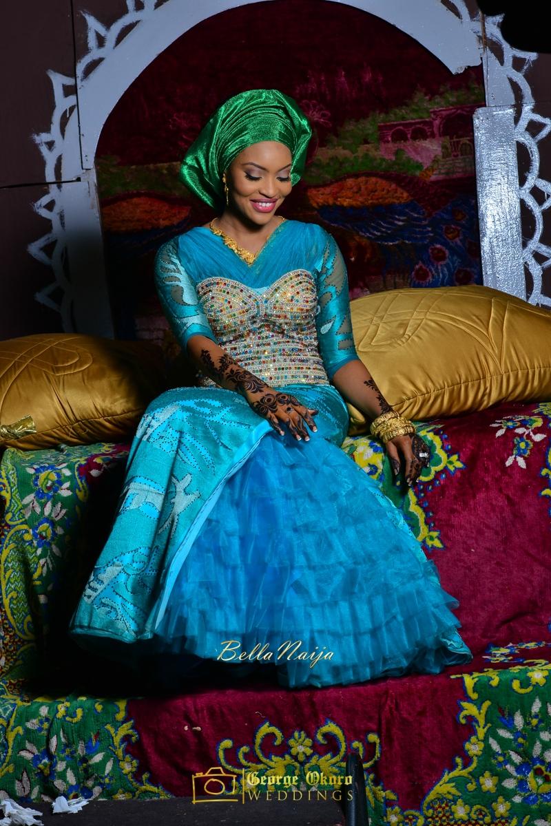 Hadiza Maitama-Sule & Salihu Rilwanu Lukman's Northern Nigerian Wedding in Kano | Fulani Kamu | BellaNaija 2015.George Okoro-524