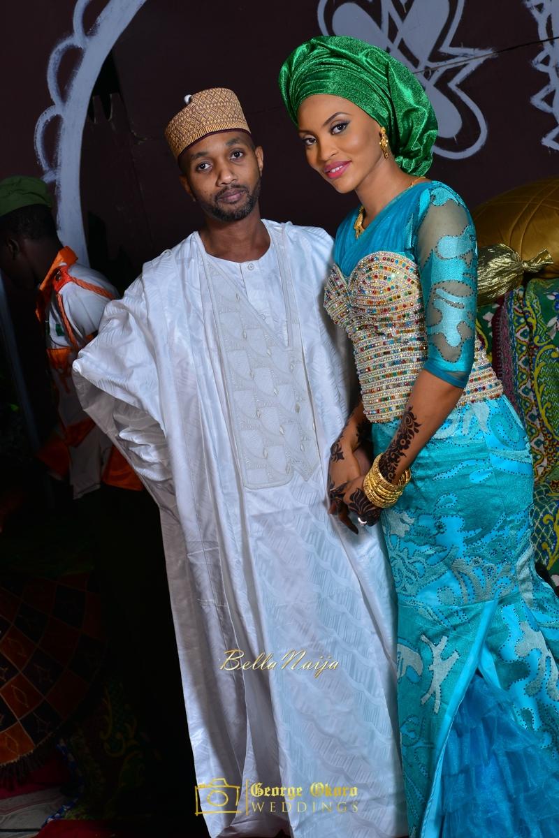 Hadiza Maitama-Sule & Salihu Rilwanu Lukman's Northern Nigerian Wedding in Kano | Fulani Kamu | BellaNaija 2015.George Okoro-540