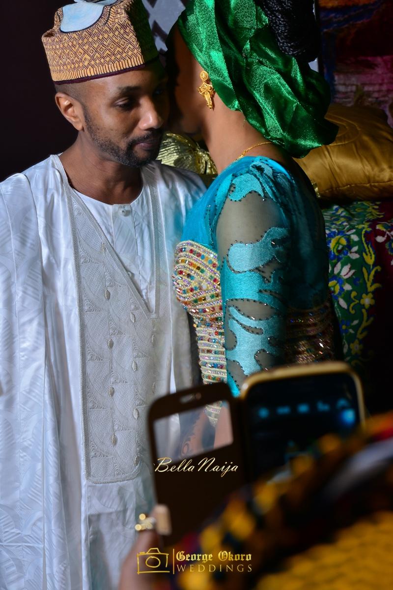 Hadiza Maitama-Sule & Salihu Rilwanu Lukman's Northern Nigerian Wedding in Kano | Fulani Kamu | BellaNaija 2015.George Okoro-545