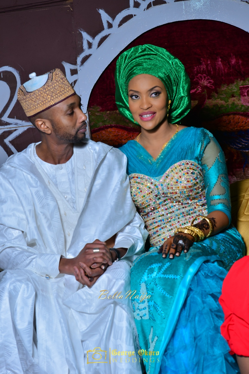 Hadiza Maitama-Sule & Salihu Rilwanu Lukman's Northern Nigerian Wedding in Kano | Fulani Kamu | BellaNaija 2015.George Okoro-551