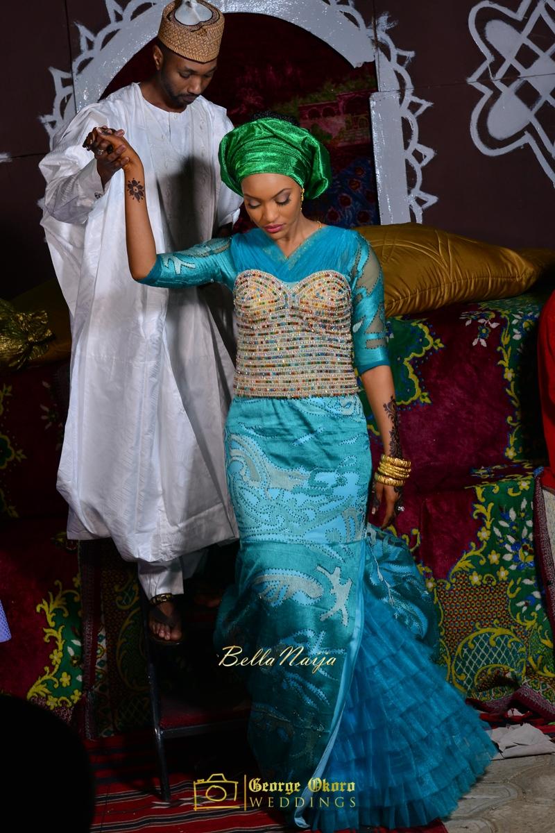 Hadiza Maitama-Sule & Salihu Rilwanu Lukman's Northern Nigerian Wedding in Kano | Fulani Kamu | BellaNaija 2015.George Okoro-568