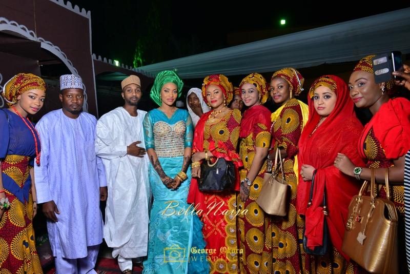 Hadiza Maitama-Sule & Salihu Rilwanu Lukman's Northern Nigerian Wedding in Kano | Fulani Kamu | BellaNaija 2015.George Okoro-584