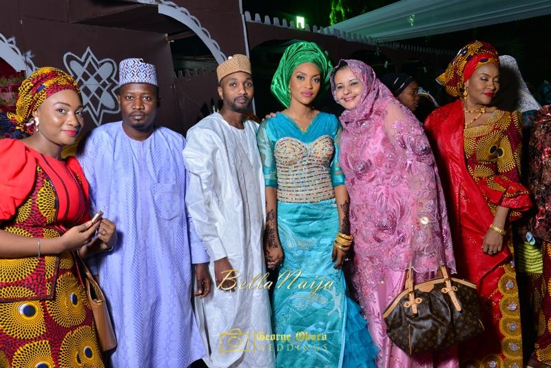 Hadiza Maitama-Sule & Salihu Rilwanu Lukman's Northern Nigerian Wedding in Kano | Fulani Kamu | BellaNaija 2015.George Okoro-592