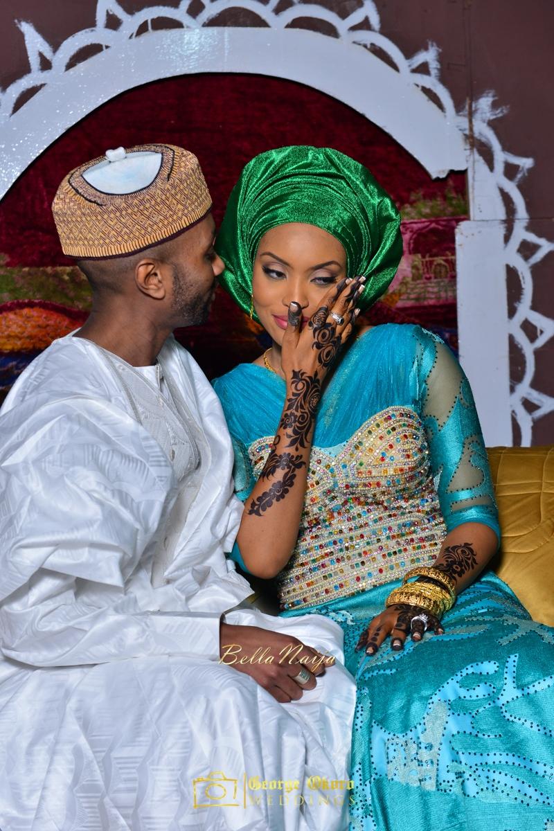 Hadiza Maitama-Sule & Salihu Rilwanu Lukman's Northern Nigerian Wedding in Kano | Fulani Kamu | BellaNaija 2015.George Okoro-602