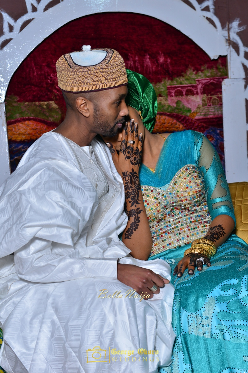 Hadiza Maitama-Sule & Salihu Rilwanu Lukman's Northern Nigerian Wedding in Kano | Fulani Kamu | BellaNaija 2015.George Okoro-603