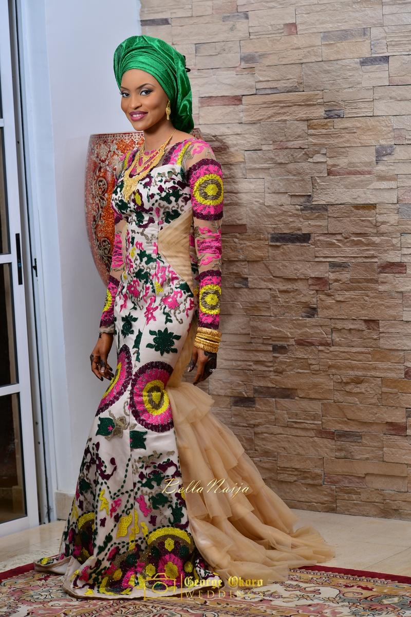 Hadiza Maitama-Sule & Salihu Rilwanu Lukman's Northern Nigerian Wedding in Kano | Fulani Kamu | BellaNaija 2015.George Okoro-90