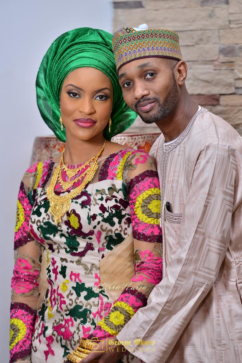 Hadiza Maitama-Sule & Salihu Rilwanu Lukman's Northern Nigerian Wedding in Kano | Fulani Kamu | BellaNaija 2015.George Okoro-96