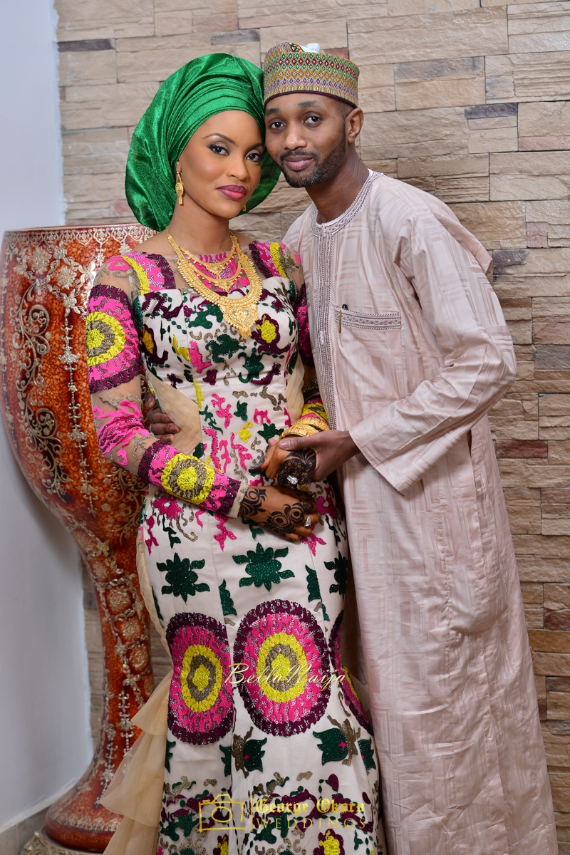 Hadiza Maitama-Sule & Salihu Rilwanu Lukman's Northern Nigerian Wedding in Kano | Fulani Kamu | BellaNaija 2015.George Okoro-99