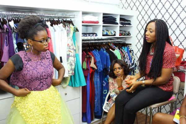 Folu Ajayi (House of Dabira) Defending her design