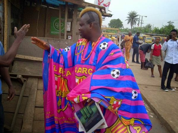 meet fc barcelona s fan in lagos quot igwe barca