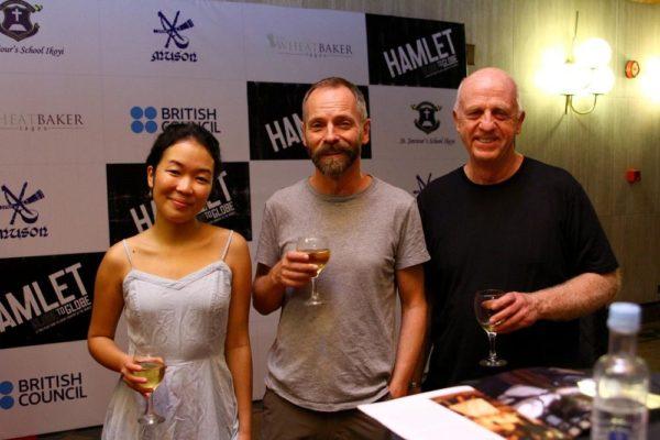 Jennifer Leong, John Dougall & Keith Bartlett