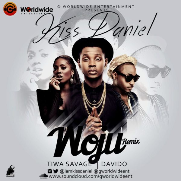 KISS DANIEL Wujo Remix cover 3