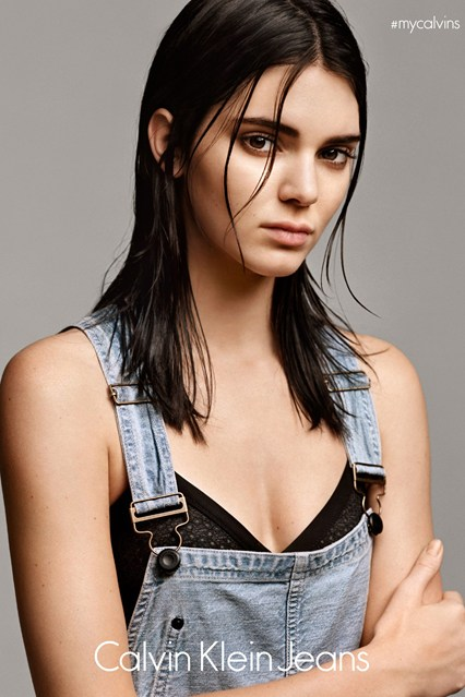 Kendall Jenner for Calvin Klein #MyCalvin Campaign - BellaNaija - March 2015