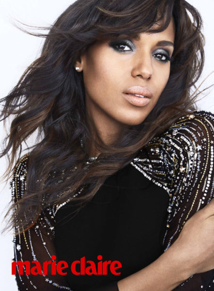 Kerry Washington Marie Claire Magazine (1)