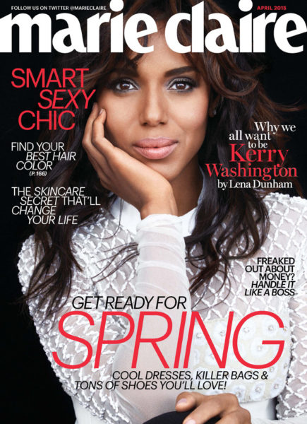 Kerry Washington Marie Claire Magazine (2)