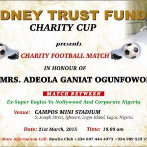 Kidney Trust Fund Charity Cup - BellaNaija -March 2015