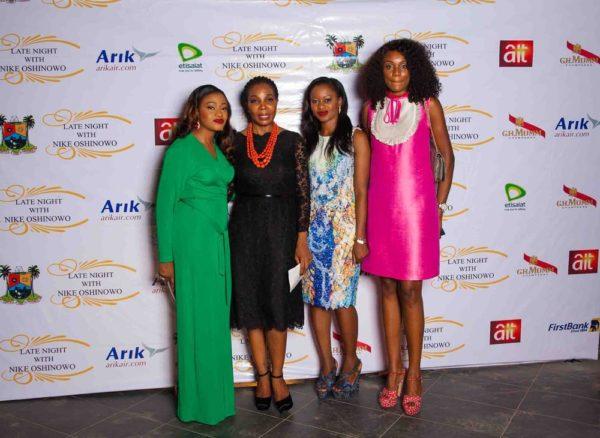Lanre DaSilva Ajayi, Nike Oshniwo, Femi DaSilva & Ono Bello
