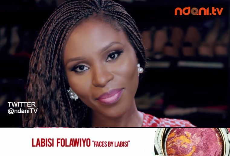Labisi Folawiyo of FacesbyLabisi for NdaniTV Beauty Beats - BellaNaija - March 2015