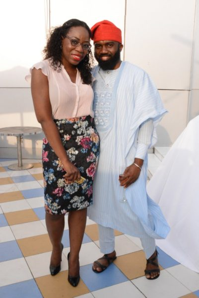 Lateefah Adesanya & Noble Igwe