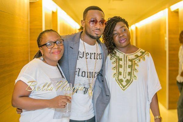 Lola Shoneyin, D'Banj and Mfon Ekpo
