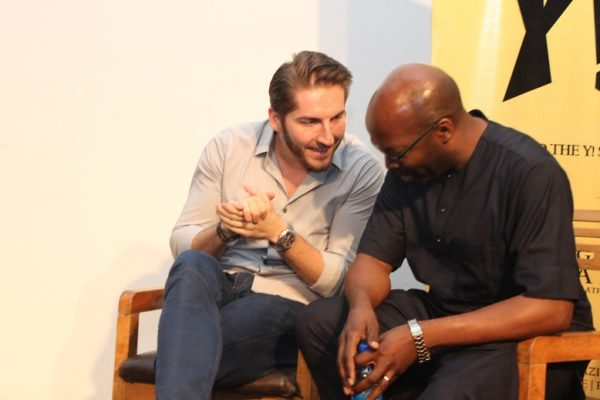 Marek Zmyslowski of Jovago and Obi Ejimofo of Lamudi