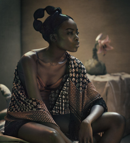Maria Borges for Mixt(e) SS2015 Editorial - BellaNaija - March 2015