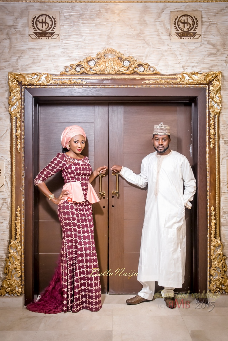 Mimi and Nas Hausa Muslim Wedding in Nigeria | BMB Photography | BellaNaija Weddings 009